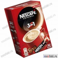 Растворимый кофе: Nescafe 3в1 Original 175 гр.