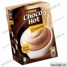 Растворимый кофе: Nestle Choco Hot Creamy 192гр
