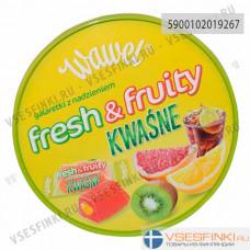 Конфеты желейные Wawel Fresh Fruity Kwasne 800гр