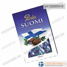 Шоколадные конфеты Panda Suomi 250гр (Черника)