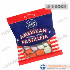 Американские пастилки FAZER Amerikan 150 гр
