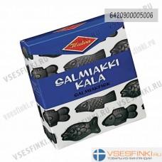 Салмиачные конфеты Halva Salmiakkikala 250 гр