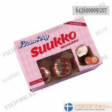 Шоколадные конфеты Brunberg 150гр/6шт (Клубника)