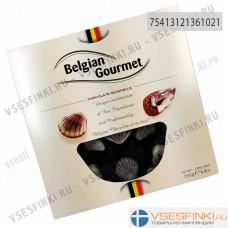 Шоколадные конфеты Belgian Gourmet Ракушки 195гр
