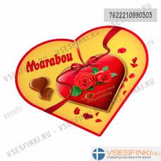 Шоколадные конфеты Marabou 180 гр