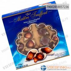 Шоколадные конфеты Maitre Truffout  Ракушки 250гр