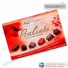 Шоколадные конфеты Maitre Truffout ассорти 180гр