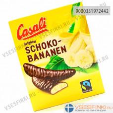 Суфле банановое Casali в шоколаде 155гр