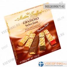 Шоколадные конфеты Maitre Truffout итальянский стиль 200гр