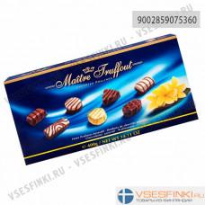 Шоколадные конфеты Maitre Truffout ассорти 400гр (Синяя)