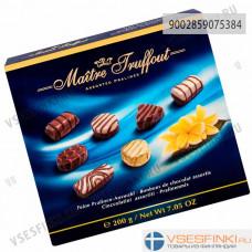 Шоколадные конфеты Maitre Truffout ассорти 200гр