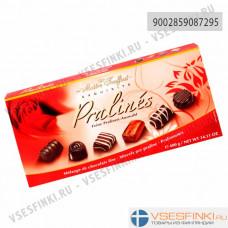 Шоколадные конфеты Maitre Truffout ассорти 400гр (Розовая)