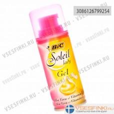 Гель для бритья Bic Soleil Lady с алоэ вера 75мл