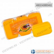 Мыло глицериновое Kappus с мёдом 3шт*250гр