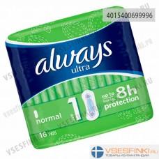 Прокладки Always Ultra Normal 1 16шт