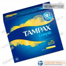 Тампоны Tampax Compak Regular 22 шт