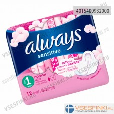 Прокладки Always Sensitive 1 12шт