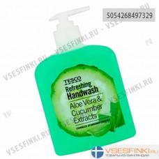 Жидкое мыло Tesco алоэ и огурец 500мл