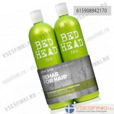 Шампунь и кондиционер для нормальных волос Tigi Bed Head 2x750мл Укрепляющие