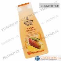 Гель для душа Family Fresh манго 500мл