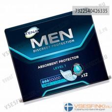 Урологические прокладки  TENA Men Level 1 12шт