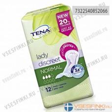 Урологические прокладки TENA lady Discreet Normal 12шт