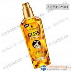 Эликсир Gliss Kur для секущихся волос 75мл
