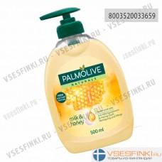 Жидкое мыло Palmolive Naturals молоко и мед 500мл