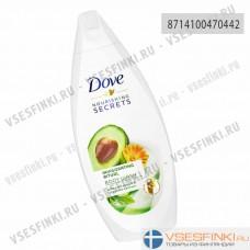 Гель для душа Dove авокадо и экстрактом календулы 250мл