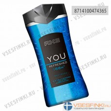 Гель для душа Axe You Refreshed 250мл