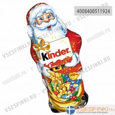 Шоколадный Дед Мороз Kinder 160 гр