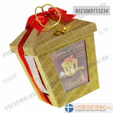 Шоколадные конфеты Vanoir рождественский фонарь с пралине 300гр