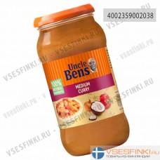 Соус карри медиум Uncle Ben's 440гр