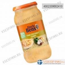 Соус тайский кокосовый карри Uncle Ben's 450гр