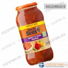 Соус кисло-сладкий оригинальный Uncle Ben's 675гр