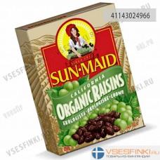 Изюм без косточек органический Sun-Maid 250гр