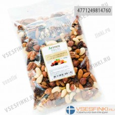 Смесь орехов+изюм Arimex 500 гр