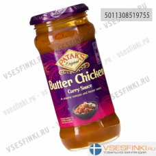 Соус масляный карри для курицы Patak's 350гр