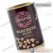 Бобы Biona черные 400 гр