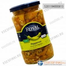 Зелёный перец пепперони Royal 350/200 гр
