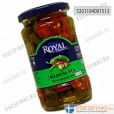 Перец халапеньо Royal mix 360/175г гр