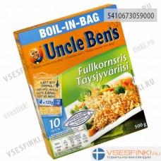 Рис Uncle Ben's коричневый 4x125 гр