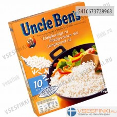 Рис Uncle Ben's пропаренный 1 кг