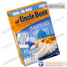 Рис UNCLE BEN'S басмати 8x125 гр