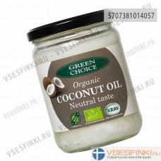 Кокосовое масло Green Choice органическое 400гр