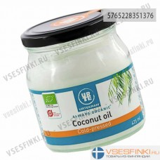 Кокосовое масло Urtekram luomu 425 мл
