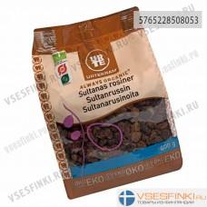 Изюм киш-миш без косточек органический Urtekram 400гр