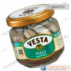 Сельдь Vesta в соусе с укропом 160/100гр