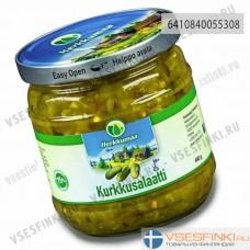 Огуречный салат Herkkumaa 440 гр