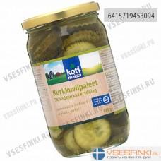 Огурцы Kotimaista резаные маринованные 680 гр